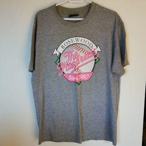 The hundreds rosewood shirt/tee